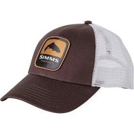 シムズ Simms メンズ キャップ トラッカーハット 帽子【Trout Patch Trucker Hat】Bark