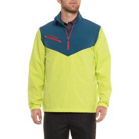 コロンビア Columbia Sportswear メンズ ゴルフ ジャケット アウター【Wicked Shot Golf Jacket - UPF 30, Zip Neck】Chartreuse