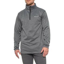 コロンビア Columbia Sportswear メンズ トップス 【Inwood Hill Park EXS Shirt - Zip Neck, Long Sleeve】Black
