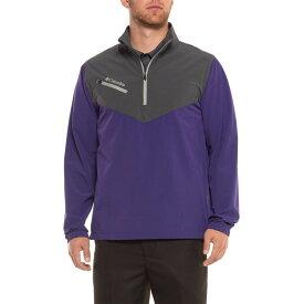 コロンビア Columbia Sportswear メンズ ゴルフ アウター【Wicked Shot Golf Jacket - UPF 30, Zip Neck】Purple