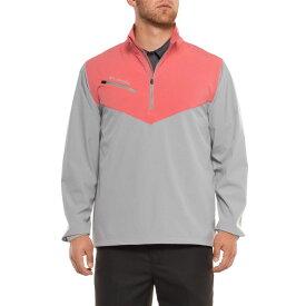 コロンビア Columbia Sportswear メンズ ゴルフ ジャケット アウター【Wicked Shot Golf Jacket - UPF 30, Zip Neck】Grey