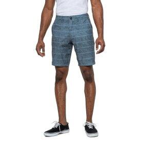 オニール O'Neill メンズ 海パン ショートパンツ 水着・ビーチウェア【Mischief Print Hybrid Shorts - 19 Inseam】Slate