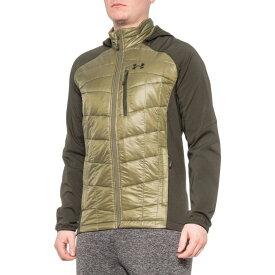 アンダーアーマー Under Armour レディース ジャケット アウター【Encompass PrimaLoft Hybrid Jacket - Insulated】Army Green/Black