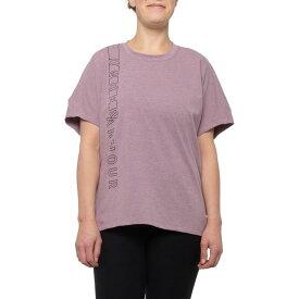 アンダーアーマー Under Armour レディース Tシャツ トップス【Lighter Longer Graphic T-Shirt - Short Sleeve】Level Purple Fade Heather