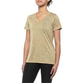 アンダーアーマー Under Armour レディース Tシャツ Vネック トップス【Tech Twist V-Neck T-Shirt - Short Sleeve】Palm Green