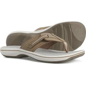 クラークス Clarks レディース ビーチサンダル シューズ・靴【Cloudsteppers Brinkley Jazz Flip-Flops】Sand