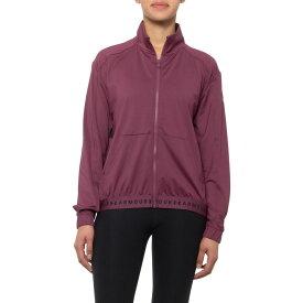 アンダーアーマー Under Armour レディース トップス 【HeatGear Full-Zip Shirt - Long Sleeve】Level Purple