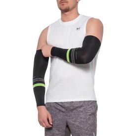パールイズミ Pearl Izumi ユニセックス 自転車 アームウォーマー サポーター【select thermal lite arm warmers - pair】Black/Screaming Green Segment