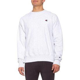 チャンピオン Champion メンズ ヨガ・ピラティス トップス【Social Works Reverse-Weave Fleece Sweatshirt】Gfs Silver Grey
