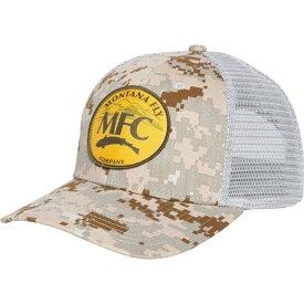 モンタナフライ Montana Fly Company ユニセックス キャップ トラッカーハット 帽子【Mountain Logo Trucker Hat】Digi Camo