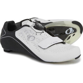 パールイズミ Pearl Izumi レディース 自転車 シューズ・靴【ELITE Road v5 Cycling Shoes - 3-Hole】White/Black
