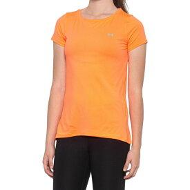 アンダーアーマー Under Armour レディース Tシャツ トップス【HeatGear T-Shirt - Short Sleeve】Peach Plasa