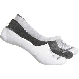 メレル Merrell レディース ソックス インナー・下着【Repreve Cushioned Liner Socks - 3-Pack, Below the Ankle】Light Grey Heather