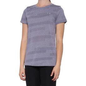 アンダーアーマー Under Armour レディース Tシャツ トップス【HeatGear DFO Velocity Jacquard T-Shirt - Short Sleeve】Flint