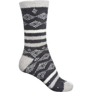 コロンビア Columbia Sportswear レディース スリッパ シューズ・靴【Renfrew Cozy Slipper Socks - Crew】Black