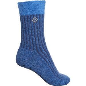 コロンビア Columbia Sportswear レディース スリッパ シューズ・靴【Cozy Lodge Slipper Socks - Crew】Blue