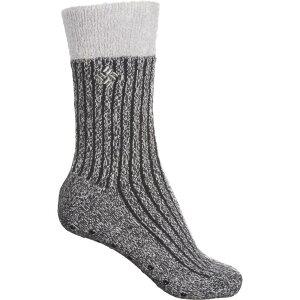 コロンビア Columbia Sportswear レディース スリッパ シューズ・靴【Cozy Lodge Slipper Socks - Crew】Black