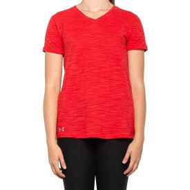 アンダーアーマー Under Armour レディース Tシャツ トップス【HeatGear Stadium T-Shirt - Short Sleeve】Red