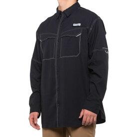 コロンビア Columbia Golf メンズ ゴルフ トップス【pfg low drag offshore shirt - upf 40, long sleeve】Black