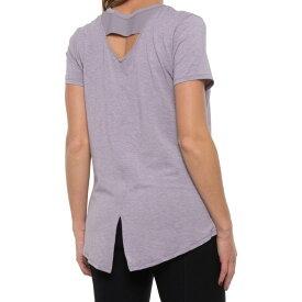 アンダーアーマー Under Armour レディース トップス 【athlete recovery sleep shirt - short sleeve】Slate Purple