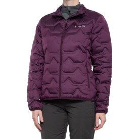 コロンビア Columbia Sportswear レディース ダウン・中綿ジャケット アウター【walker mill heat seal down jacket - 650 fill power】Black Cherry