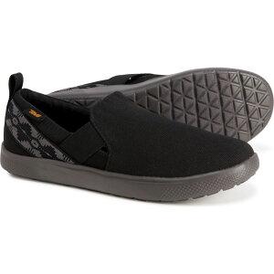 テバ Teva レディース スリッポン・フラット シューズ・靴【voya shoes - slip-ons】Canyon Black