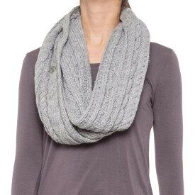マイケル コース Michael Kors レディース マフラー・スカーフ・ストール 【french cable infinity scarf】Pearl Heather Grey/Silver