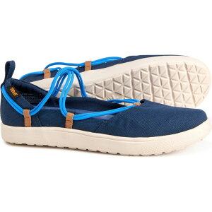 テバ Teva レディース スニーカー シューズ・靴【voya infinity mary jane shoes】Black/Iris/French Blue