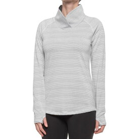 アンダーアーマー Under Armour レディース トップス 【zinger shirt - long sleeve】True Grey Heather