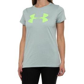 アンダーアーマー Under Armour レディース Tシャツ トップス【tech graphic t-shirt - short sleeve】Atlas Green