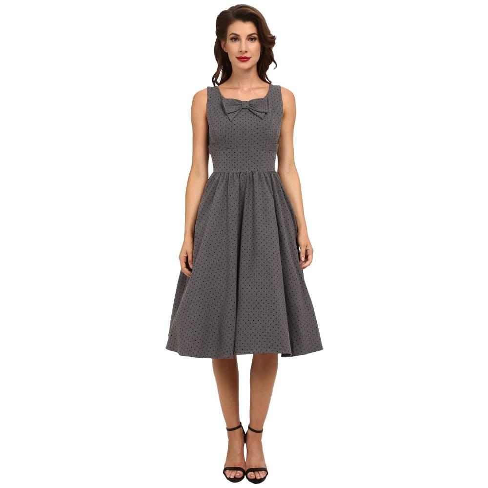 ストップスターリング レディース ワンピース・ドレス ワンピース【Dori Swing Dress】Grey/Black Microdot
