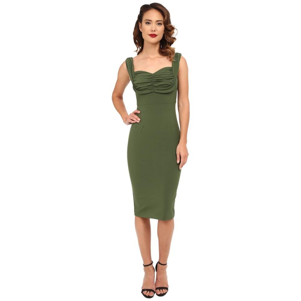 ストップスターリング レディース ワンピース・ドレス ワンピース【Zoe Fitted Dress】Green