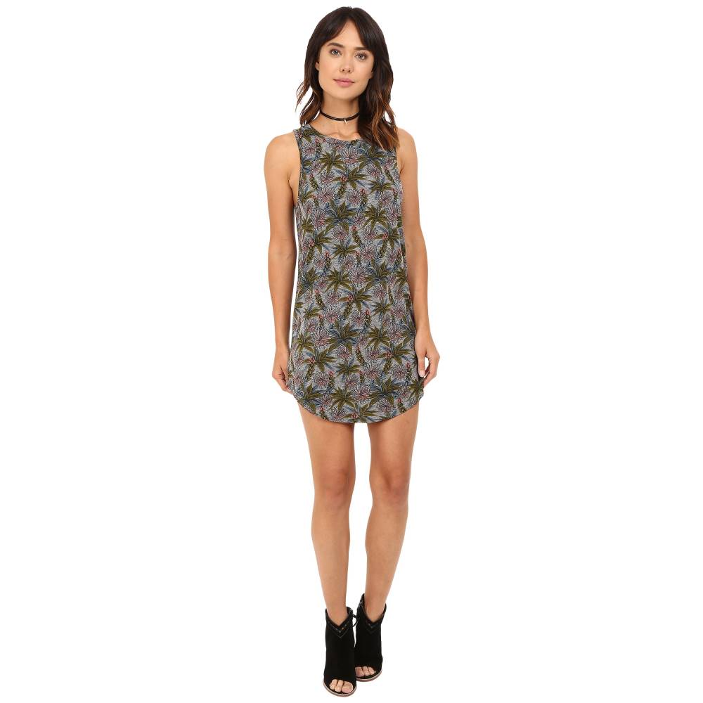 ヴァンズ レディース ワンピース・ドレス ワンピース【Tropic Tank Dress】Succulent