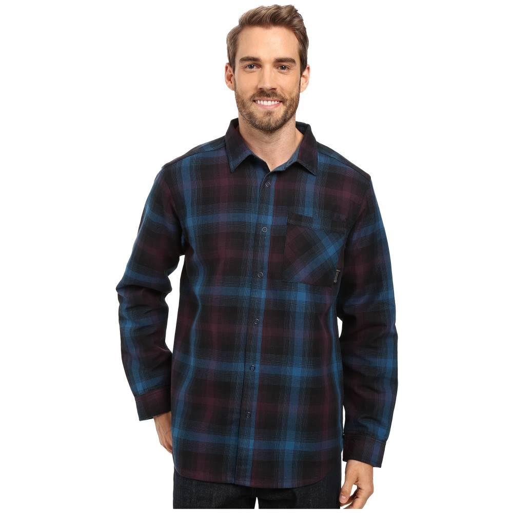 マウンテンハードウェア メンズ トップス シャツ【Reversible Plaid Long Sleeve Shirt】Phoenix Blue