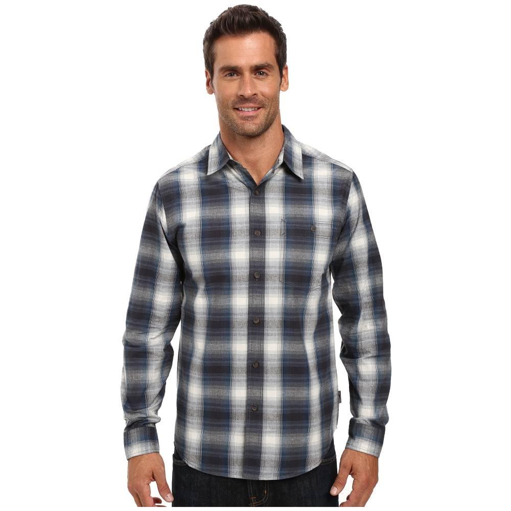 ロイヤルロビンズ メンズ トップス シャツ【Galen Cotton Long Sleeve Shirt】Phoenix Blue