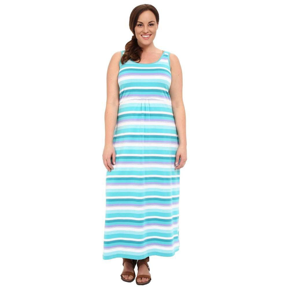 コロンビア レディース ワンピース・ドレス ワンピース【Plus Size Reel Beauty' II Maxi Dress】Miami Multi Stripe