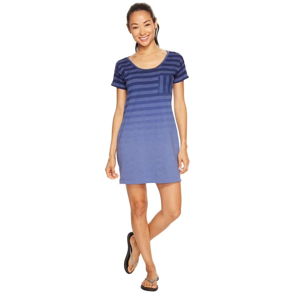 コロンビア レディース ワンピース・ドレス ワンピース【Beach Bound Tee Dress】Bluebell Stripe