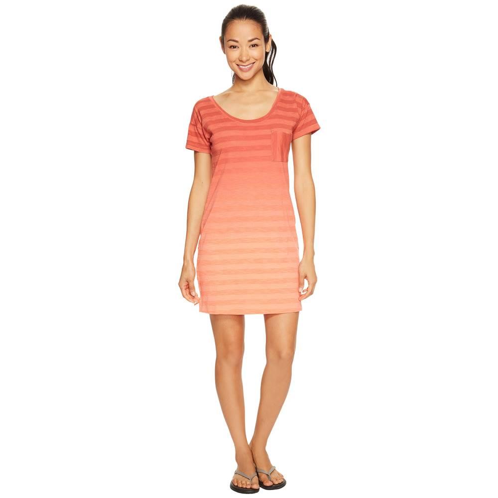 コロンビア レディース ワンピース・ドレス ワンピース【Beach Bound Tee Dress】Lychee Stripe