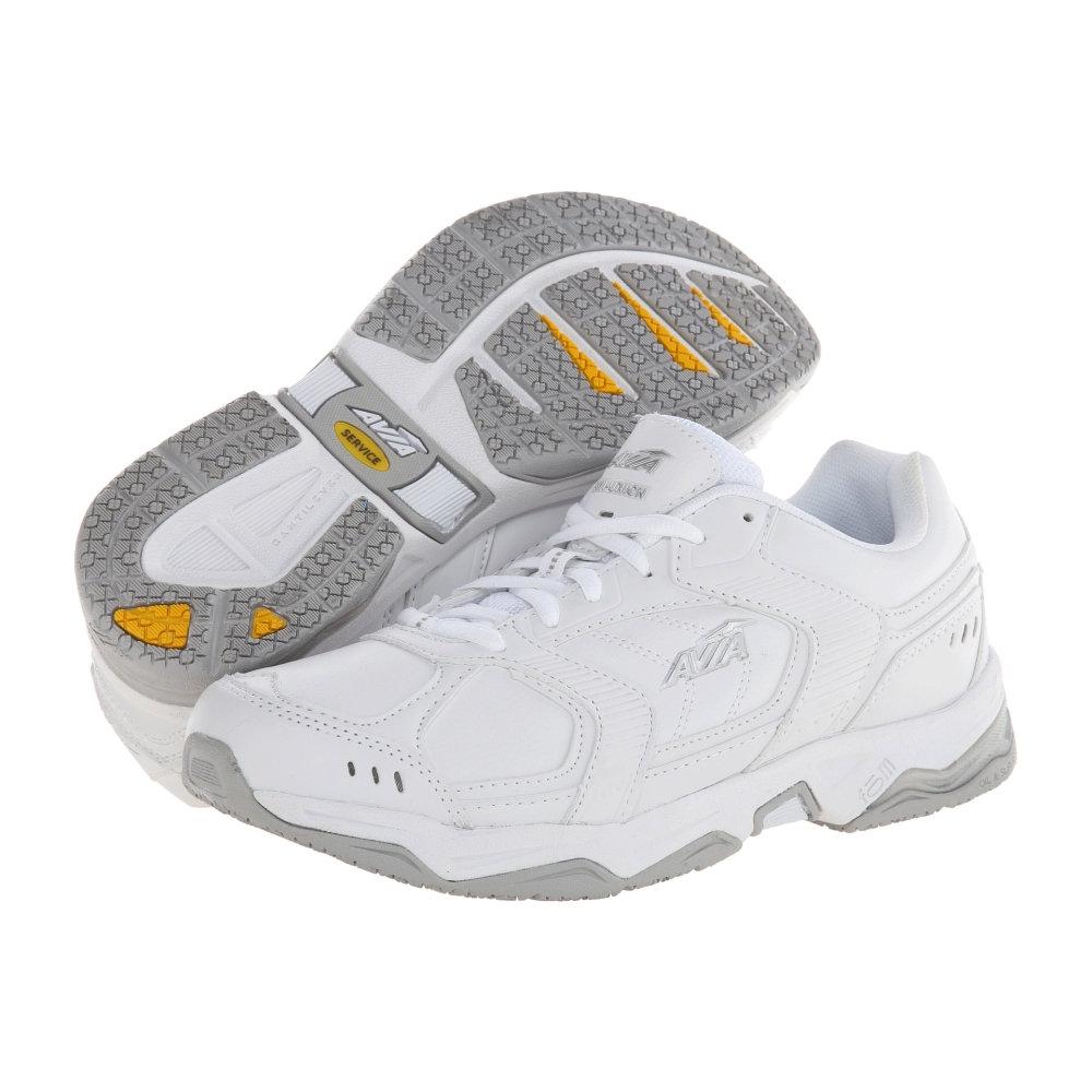 アヴィア メンズ シューズ・靴 スニーカー【Avi-Union A1439M】White/Chrome Silver/Steel Grey