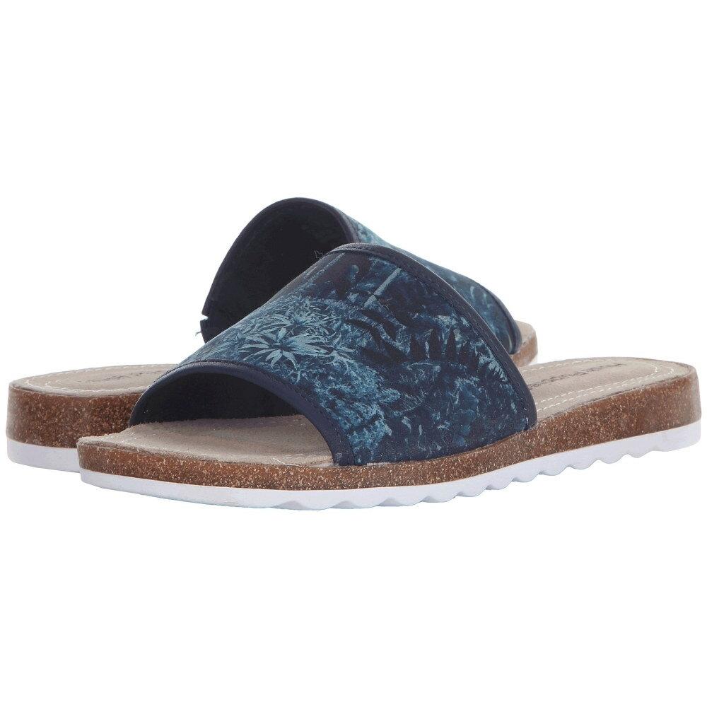 ハッシュパピー レディース シューズ・靴 サンダル・ミュール【Panton Jade】Navy Leather