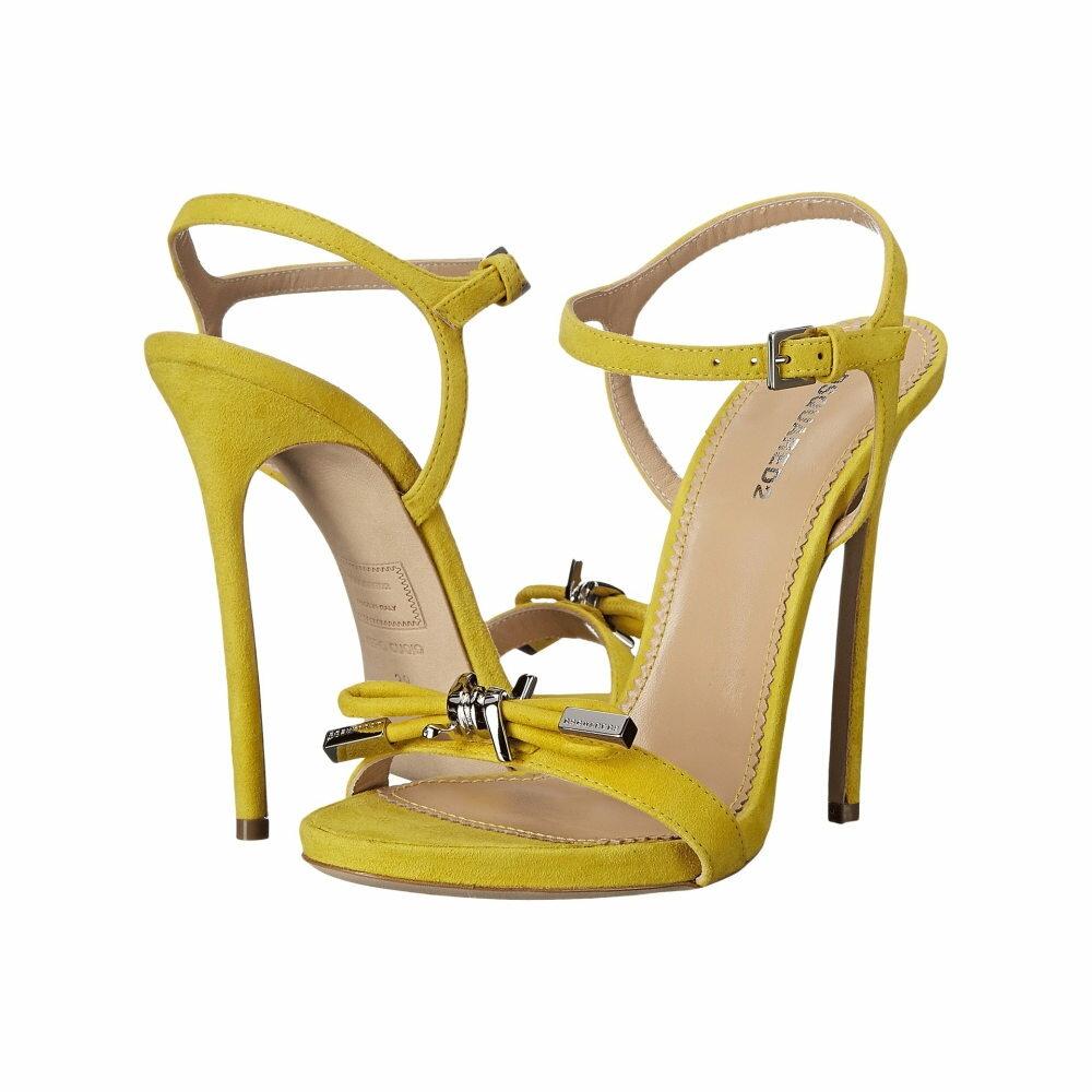 ディースクエアード レディース シューズ・靴 サンダル・ミュール【Sandal】Giallo Camoscio