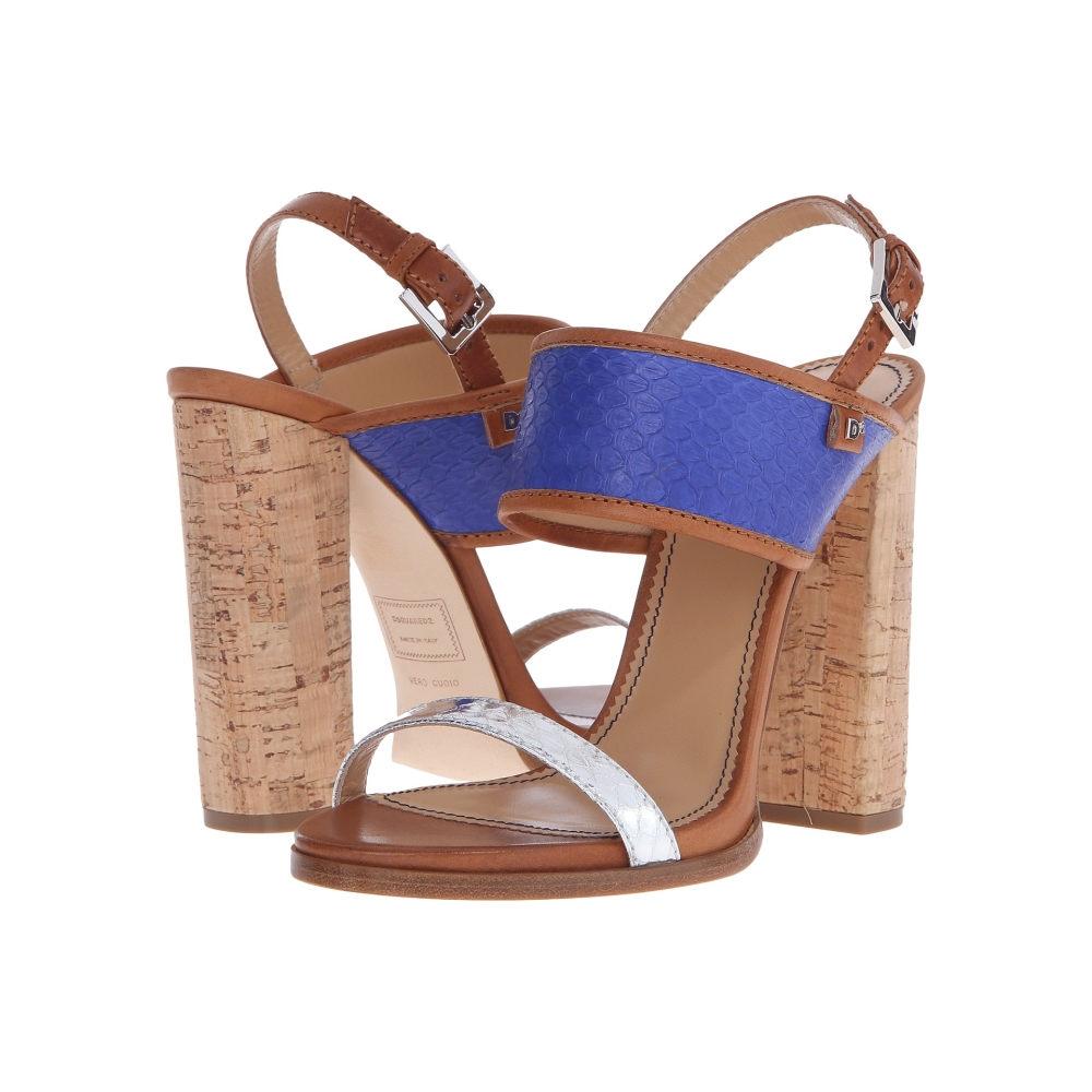ディースクエアード レディース シューズ・靴 サンダル・ミュール【Sandal】Blue Elettrico Ayers Sughero