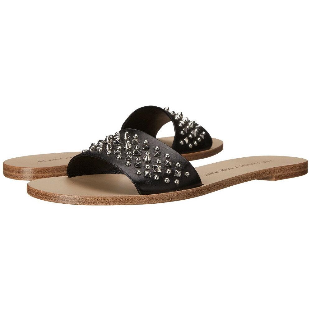 アレキサンダー マックイーン レディース シューズ・靴 サンダル・ミュール【Sandal Pelle S.Cuoio】Black