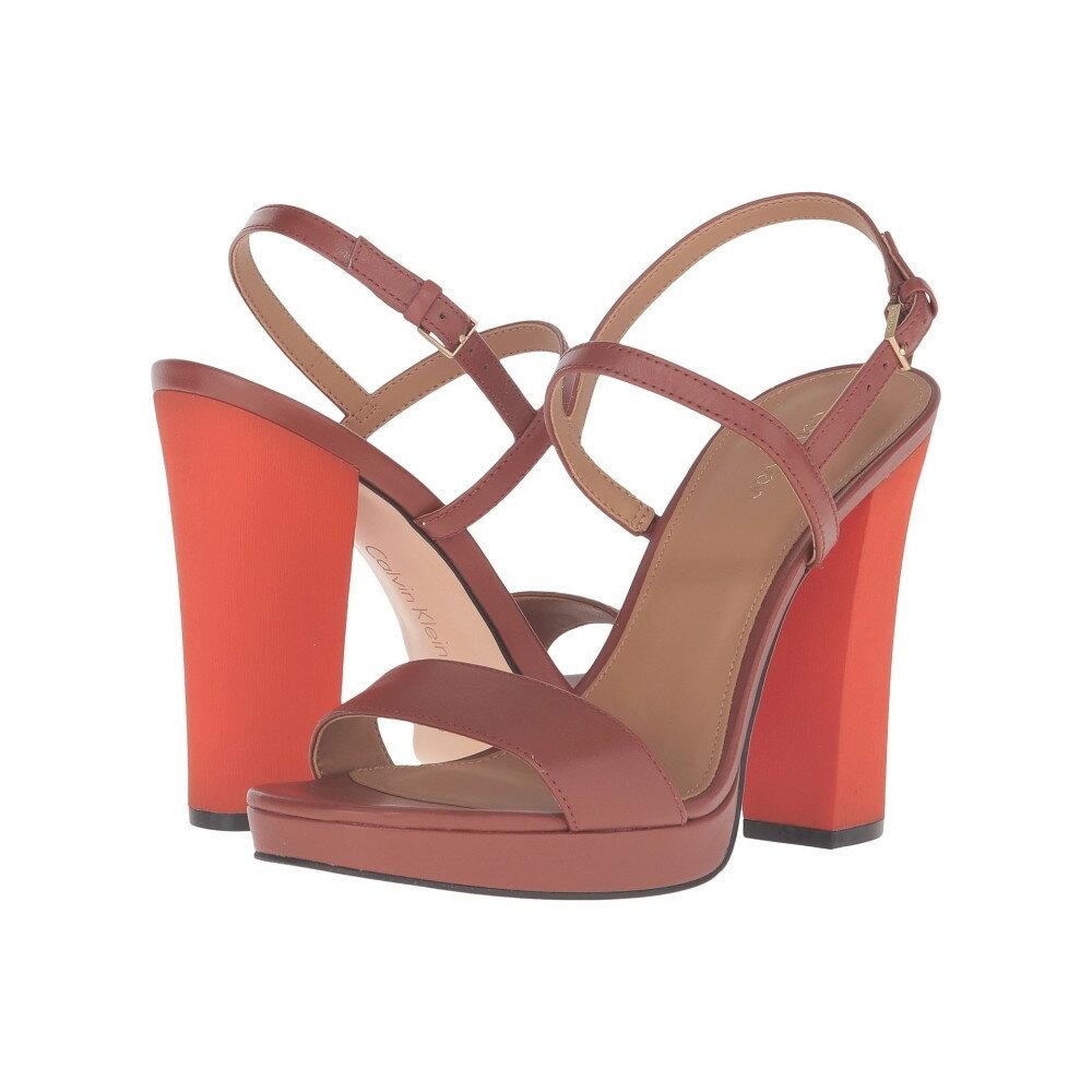 カルバンクライン レディース シューズ・靴 ヒール【Bambii】Brandy Leather