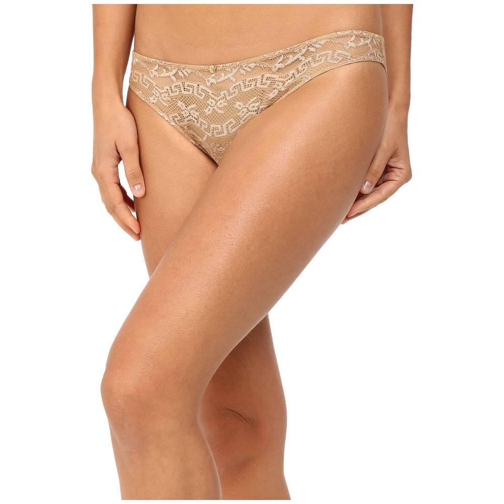 ヴェルサーチ レディース インナー・下着 ショーツ【Lace Slip-On Panty】Nude