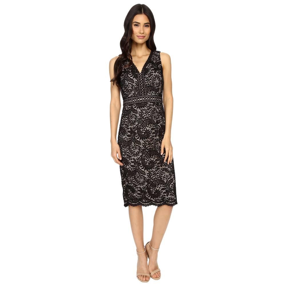 マギーロンドン レディース ワンピース・ドレス ワンピース【Spanish Scroll Lace Sheath Dress】Black