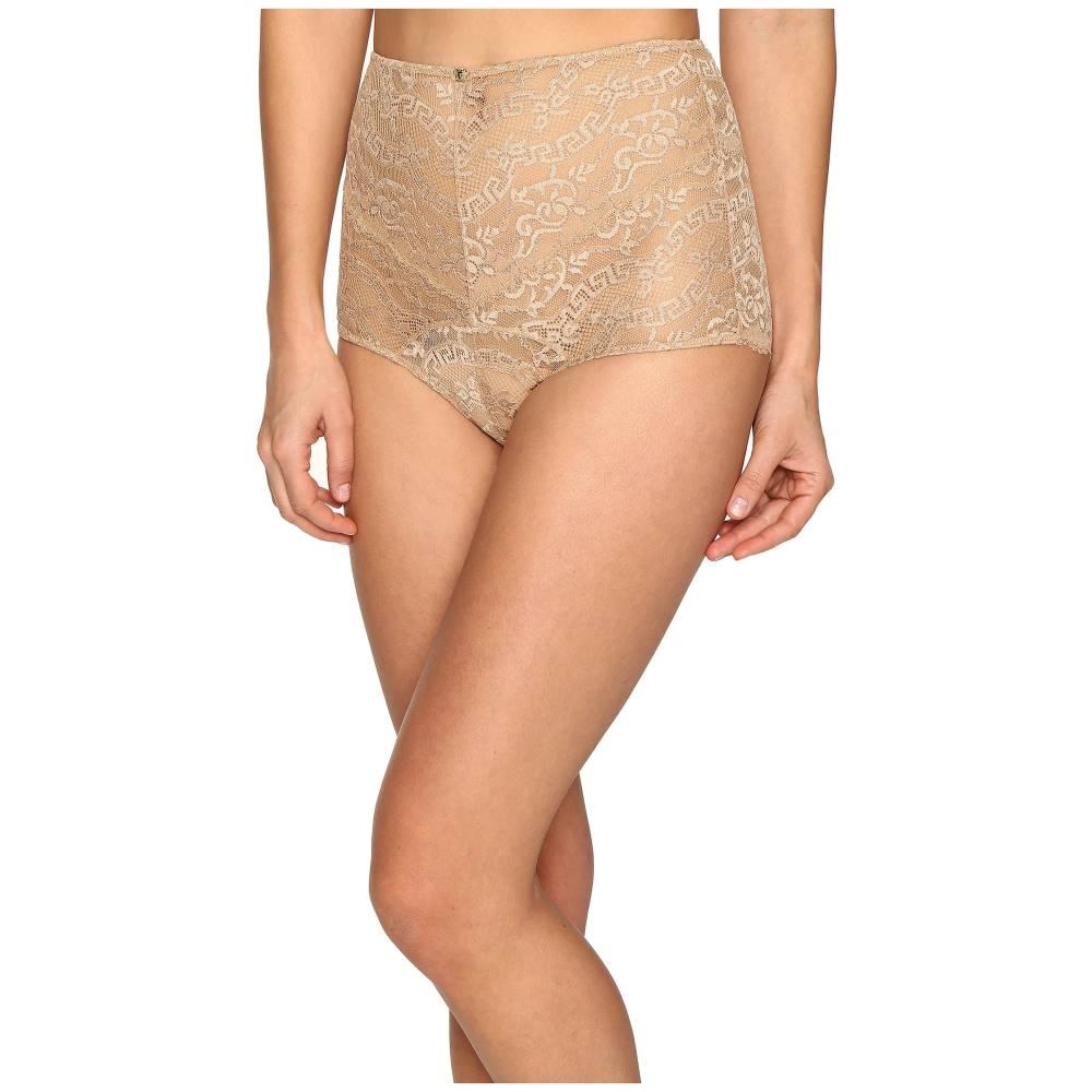 ヴェルサーチ レディース インナー・下着 ショーツ【Lace High Waisted Panty】Nude