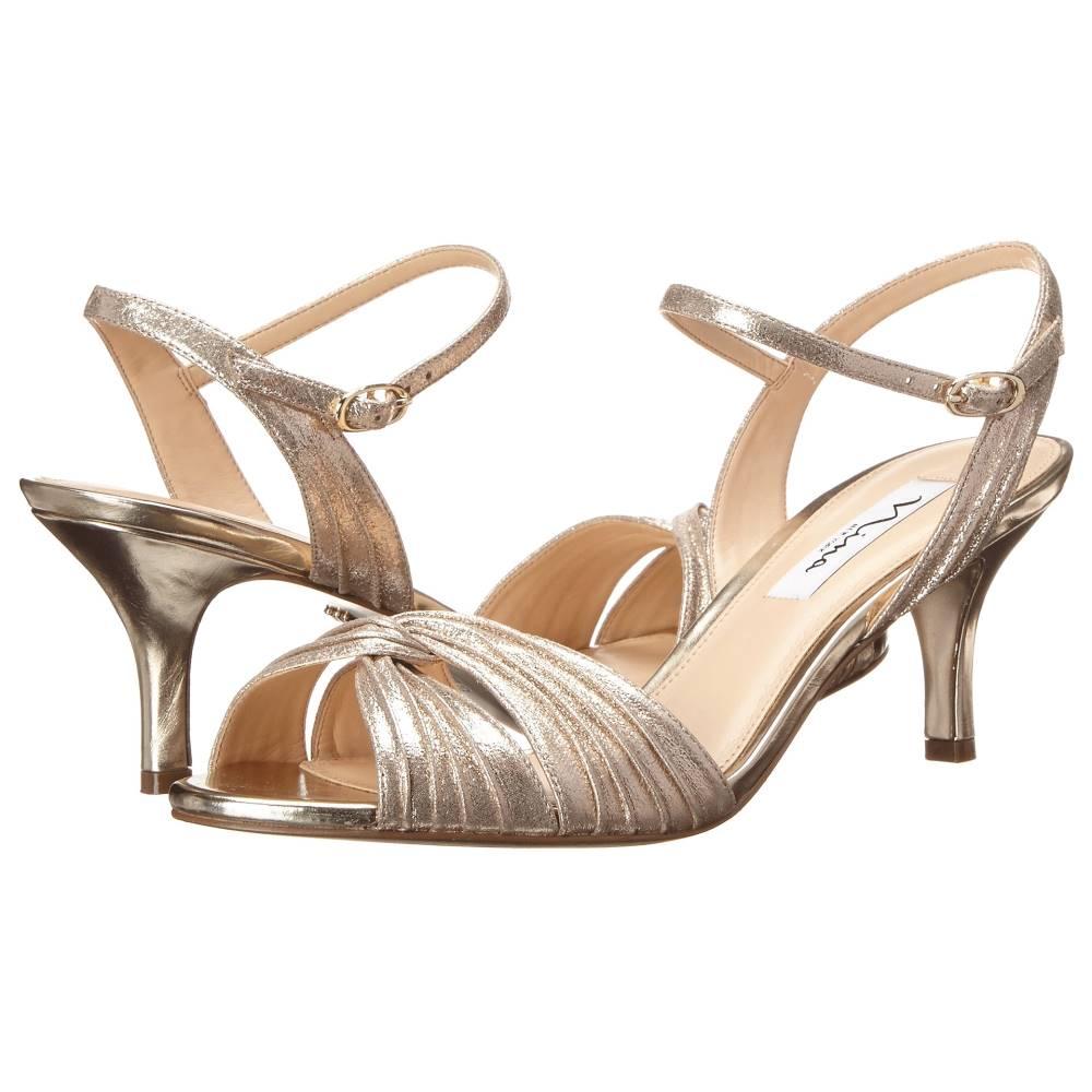 ニナ レディース シューズ・靴 サンダル・ミュール【Camille】Taupe/Light Gold
