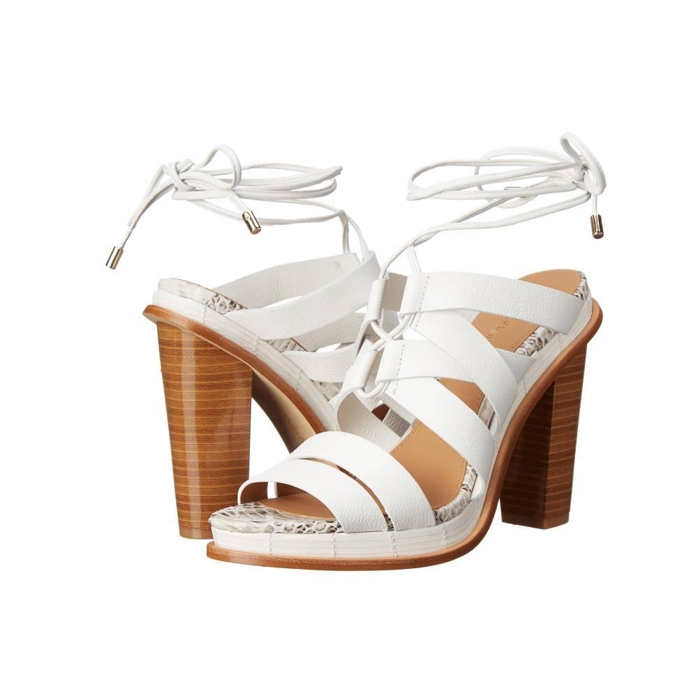 カルバンクライン レディース シューズ・靴 ヒール【Panelope】Platinum WHite Toscana Leather