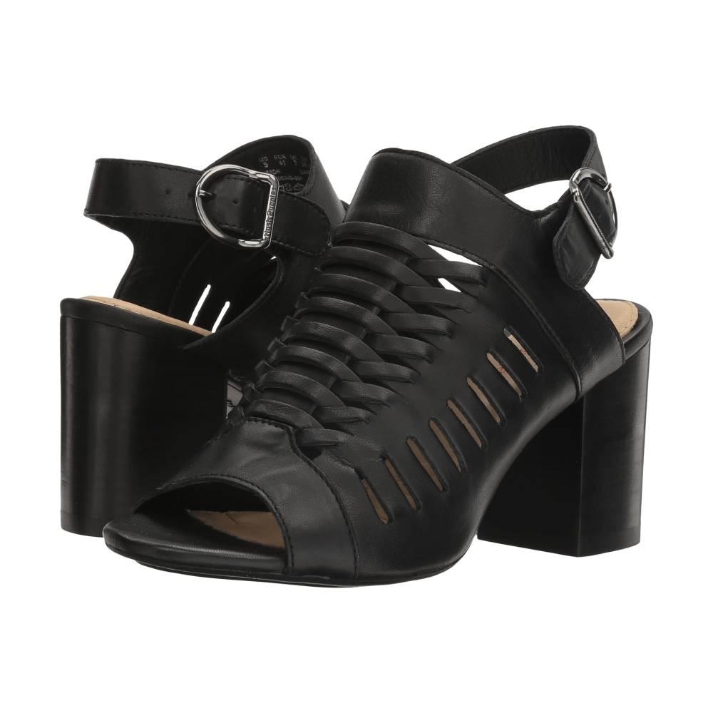ハッシュパピー レディース シューズ・靴 サンダル・ミュール【Sidra Malia】Black Leather